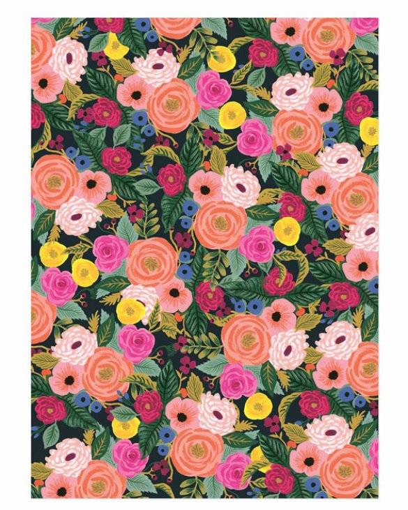 JULIET ROSE WRAPPING SHEETS ( 3sheets )