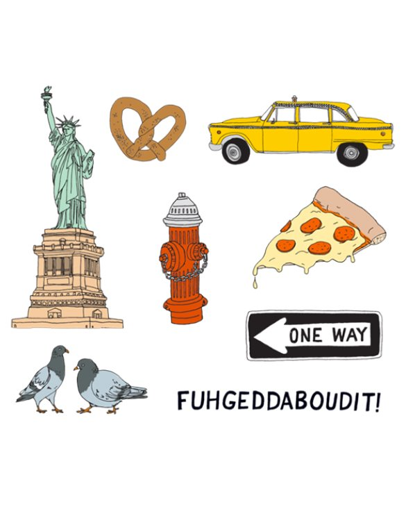 NEW YORK SET (8개입)