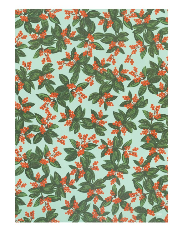 WINTERBERRIES WRAPPING SHEETS ( 3sheets )