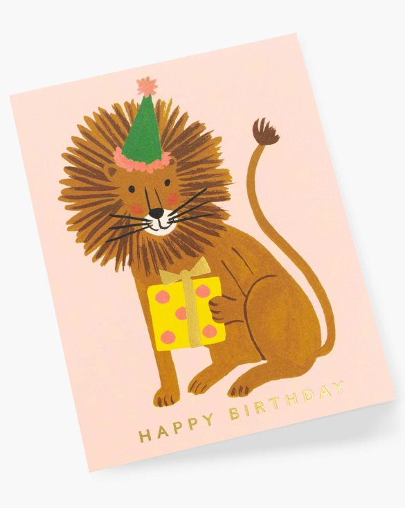 LION BIRTHDAY